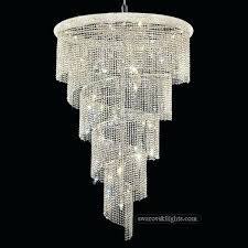 chandelier swarovski crystals staircase crystal chandeliers lighting we specialize in making crystal red swarovski crystal chandelier