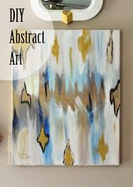 Abstract Painting How To Britney Dearest Easy Diy Abstract Painting