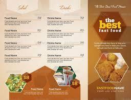 Take Out Menu Template Restaurant Cafe Take Out Menu Template Menu Food Menu