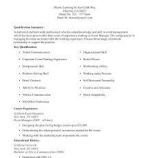 Sample Resume No Job Experience Nfcnbarroom Com