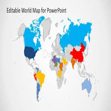 Editable World Map For Powerpoint Powerpoint World Map World Map Powerpoint Slide 5b09278fe9997