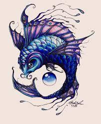рыбы карп тату 4 рыбы карпы тату эскизы фото тату эскизы