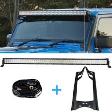 jeep wrangler led light bar wiring wiring diagram user 300w 52 inch offroad led light bar drl mounting bracket wiring jeep wrangler led light bar wiring