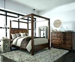 Queen Wood Canopy Bed Queen Wood Canopy Bed Wooden Frame Ideas King ...