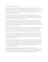 Cover Letter For College Application Sample College Application