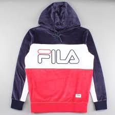 fila zip up hoodie. fila hoodie baggio peacoat/white/red fw16bkm005 zip up a