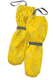 Рукавицы детские, непромокаемые <b>утепленные</b>, цвет желтый ...
