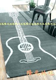 themed rugs australia guitar area amazing black and white rug for modern living s