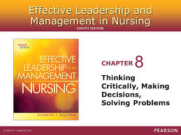 Nursing Process and Critical Thinking Jeanelle F  Jimenez RN  BSN     Nursing  Rapidly changing business critical thinking and decision making process case decision making  Decision making  Models used to use of