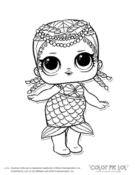 Coloring Pages For Kids Lol Dolls Printable Coloring Page For Kids
