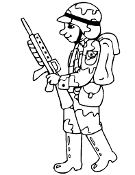 Toy Soldier Coloring Page At Getdrawingscom Free For Personal Use
