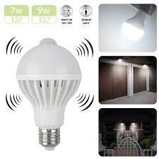 Ebay Dusk To Dawn Lights Indoor Outdoor Motion Sensor Light Bulb Motion Activated Led Dusk To Dawn 7w 9w