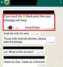 Trick With Hidden Symbols Makes Whatsapp And Smartphone Crash Or