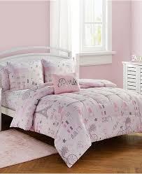 sanders love paris full comforter set