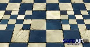 asbestos floor tile mastic