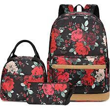 Girls Backpack for School Book Bag Set Women ... - Amazon.com