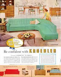 Kroehler Bedroom Furniture Vintage 1950s Kroehler Furniture Ad Mid Century Modern