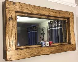rustic wall mirrors ideas