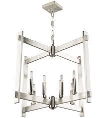 artcraft cl15088pn cityscape 8 light 26 inch polished nickel chandelier ceiling light