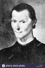 Der italienische Autor der politischen Schriften, Niccolo Machiavelli  (1469-1527), war Kanzler der Rat der Zehn