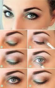 10 step by step makeup tutorials for blue eyes easy simple eyeshadow