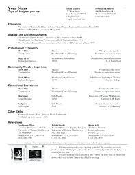 Drama Teacher Resumes Theater Resume Template Theatre Resume Template Drama Teacher