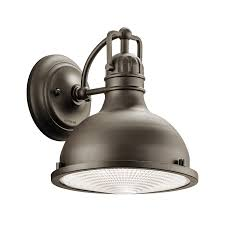 Hatteras Bay 9 5 Led Outdoor Wall Light In Olde Bronze