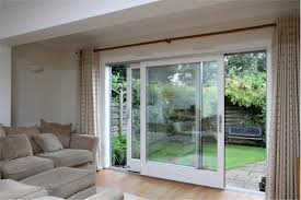 back to install exterior sliding glass doors