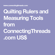 Quilting Rulers and Measuring Tools from ConnectingThreads.com US ... & Quilting Rulers and Measuring Tools from ConnectingThreads.com US$ | CRAFTS  - Shopping Canada | Pinterest | Quilting rulers, Craft shop and Craft Adamdwight.com