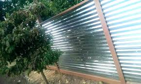 corrugated metal privacy fence how to build a corrugated metal fence corrugated metal privacy fence corrugated