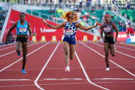 Banned from Olympics, US sprinter Sha ...