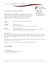 Resume Mission Statement Template Best Template Collection