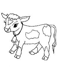 Small Picture Baby Cow Coloring Pages Coloring Pages