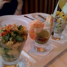 fine dining new york theater district. photo of bar americain - new york, ny, united states. seafood trio from fine dining york theater district t