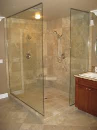 open shower with 3 estate panels orb cl 3
