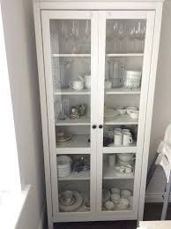 Ikea Glass Cabinet With Lock Hemnes Door White Detolf Display Light. Ikea Glass  Display Cabinet Instructions Hemnes Door With Drawers Lock.