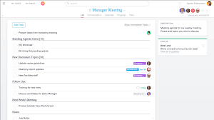 level 10 meeting template add some more projects product guide asana