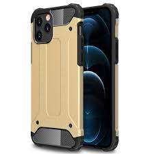 Robuste Outdoor Hülle für iPhone 12 Pro Max Outdoor Gold