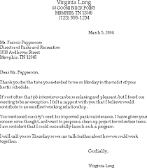 Thank You Letter After Manager Interview Erpjewels Com