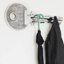 Coat Key Rack Key Hanger Just plain cool Pinterest Coat racks Hanger and 87