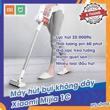 ⭐TRẢ GÓP 0% - Máy hút bụi không dây cầm tay Xiaomi Mijia 1C lực hút siêu  mạnh: Mua bán trực tuyến Máy hút bụi cầm tay với giá rẻ