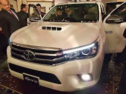 new car launches pakistanToyota Launches Hilux Revo in Pakistan