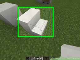 how to make a chair in minecraft. Image Titled Build A Chair In Minecraft Step 2 How To Make