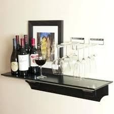 hanging wine glass rack wood racks wall ikea grundtal stainless steel