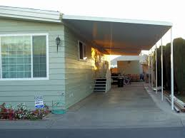 mobile home carport