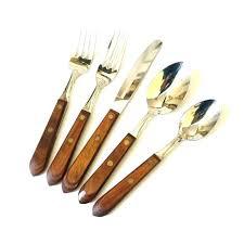 wooden handle flatware set wooden handle flatware sets medium size of handle flatware silverware olive wood wooden handle flatware set