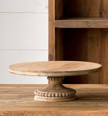 Wooden Cake Display Stand