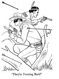 The Lone Ranger Coloring Pages See