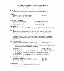 Circuit Design Engineer Sample Resume Unique Electrical Engineer Resume Regular Construction Project Engineer