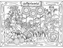 Garden Coloring Pages At Getcoloringscom Free Printable Colorings